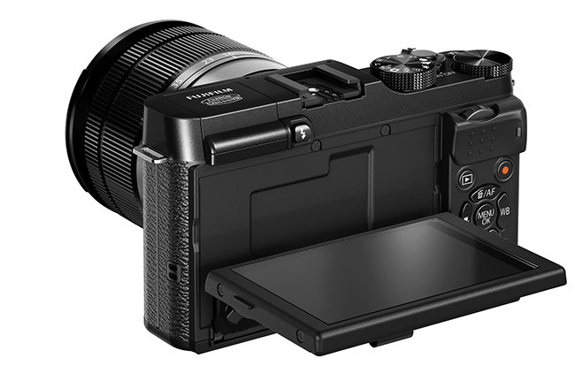 fujifilm X-M1_Black_Back_Right_16-50mm_Tilt_LCD_90