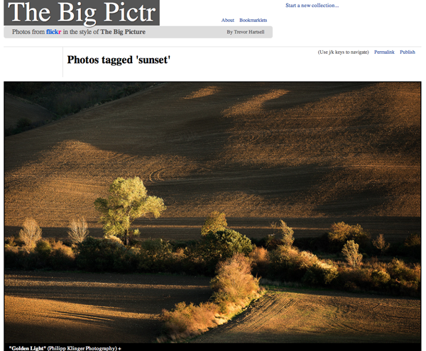 The Big Pictr: muestra tus fotos al estilo «The Big Picture»