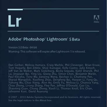 Lightroom 5, ya disponible la beta pública