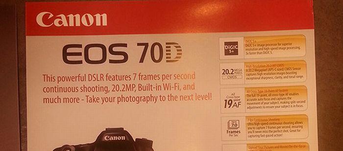 Canon 70D, con Wi-Fi integrado, será la próxima réflex de Canon
