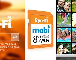 Eye-Fi mobi, de la cámara al móvil gracias al Wi-Fi
