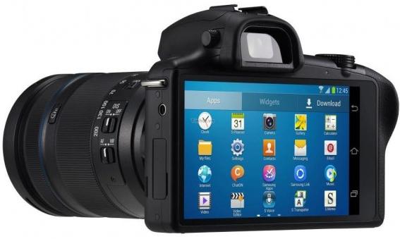 Samsung Galaxy NX: CSC con Android y LTE