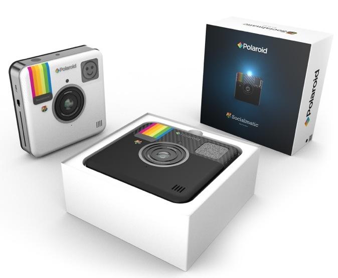 Socialmatic, la nueva cámara con impresora incorporada de Polaroid