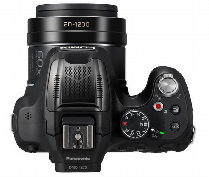 Panasonic FZ72, con zoom óptico 60X