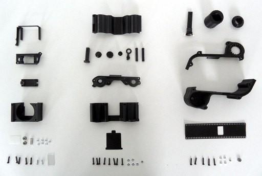 OpenReflex, el primer modelo funcional de réflex imprimible en 3D