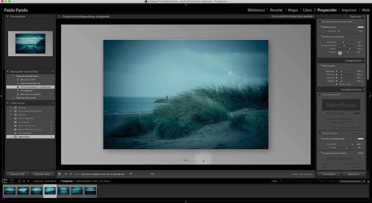 Curso de Adobe Lightroom 5 – Capítulo 56: El módulo Proyección (I)