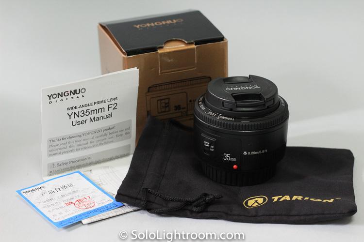 Prueba de la focal fija Yongnuo 35mm f/2