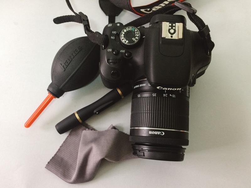 Limpieza de cámaras y objetivos