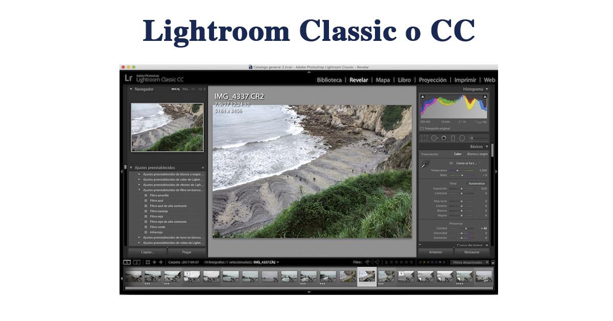 lightroom classic o cc