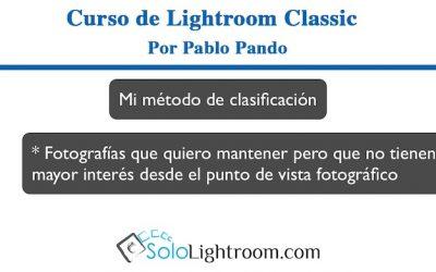 Curso de Lightroom Classic – Capítulo 8: Módulo biblioteca, seleccionando las fotografías (II)