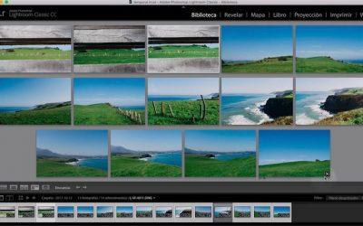 Curso de Lightroom Classic – Capítulo 10: Módulo biblioteca, seleccionando las fotografías (IV). La vista encuesta