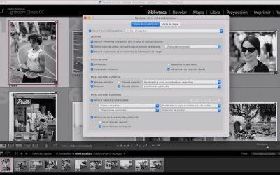 Curso de Lightroom Classic – Capítulo 17: Módulo biblioteca, configuración de la vista cuadrícula